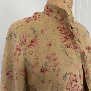 Vintage Ralph Lauren Linen Jacket. Size M.